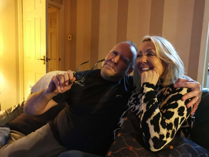 julie donald and big bro gary fletcher having fun