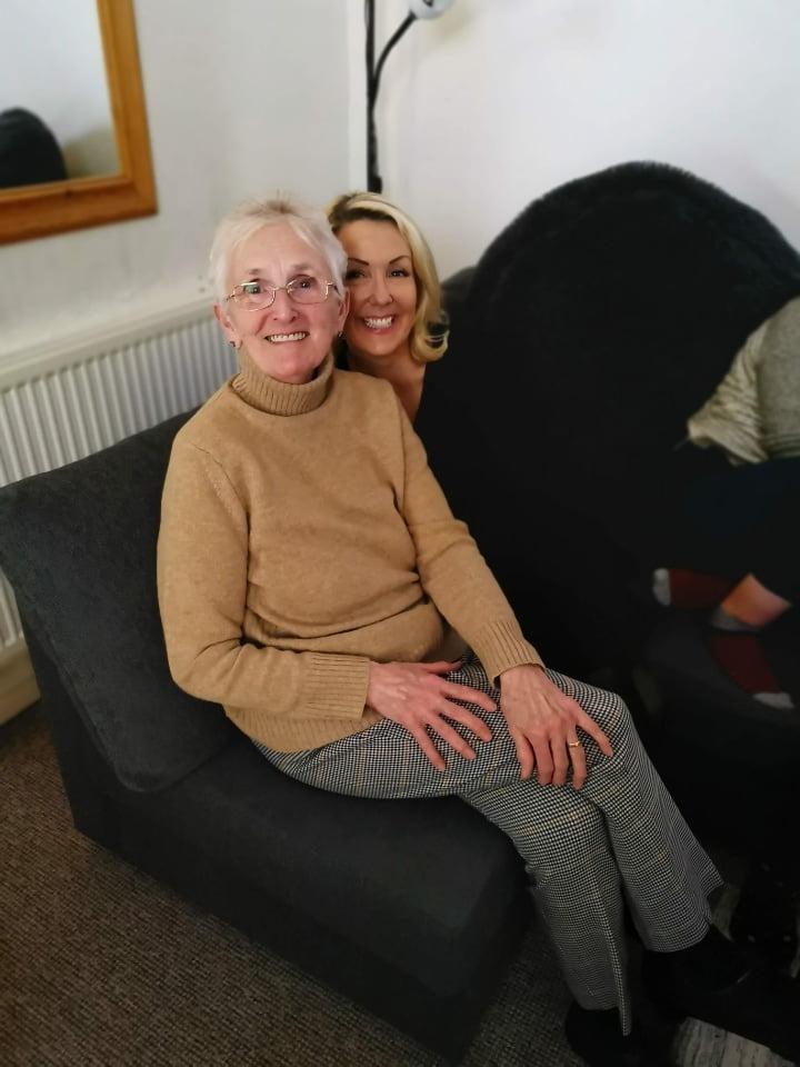 julie donald and mum joan fletcher