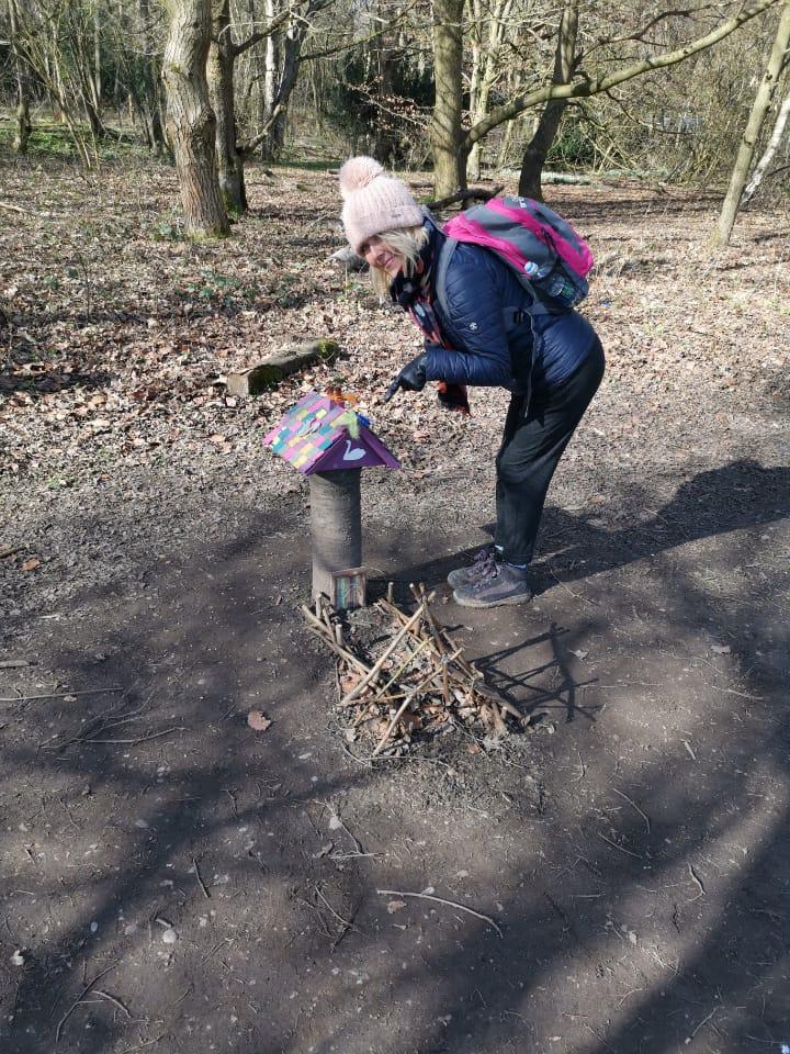 julie donald at rufford park