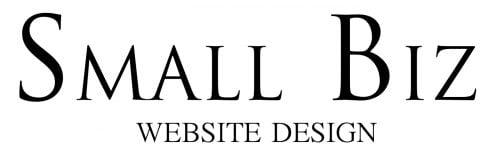 Smallbiz website design nottingham black logo